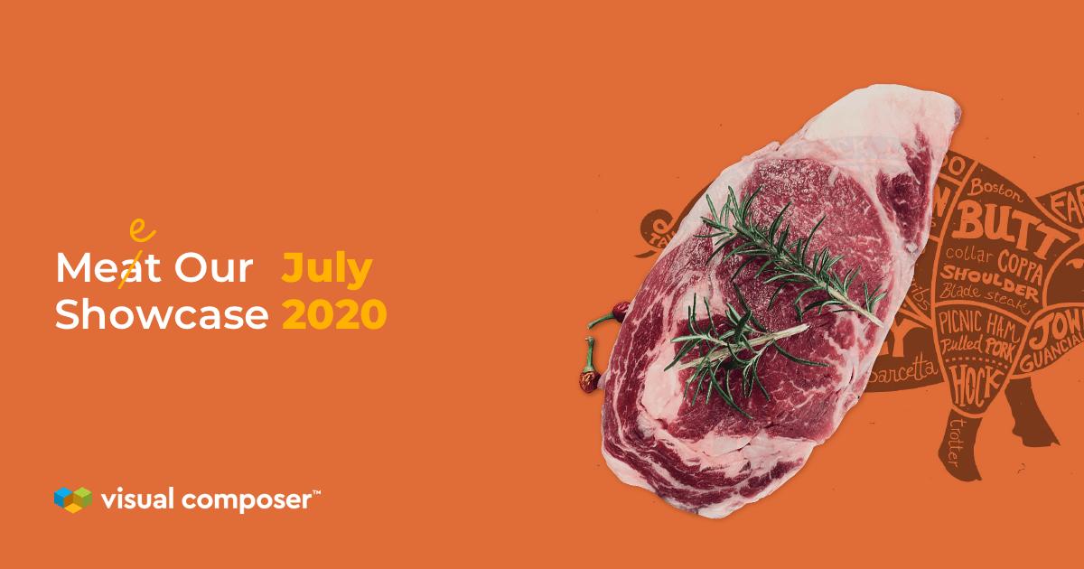 Visual Composer Showcase: July 2020