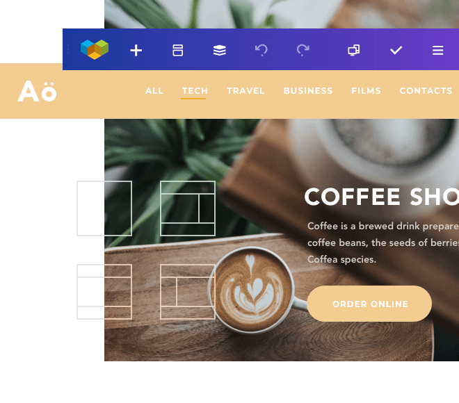 Visual Composer theme builder for WordPress