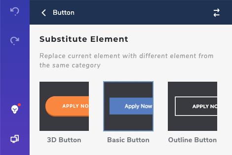 Substitute Inner Elements