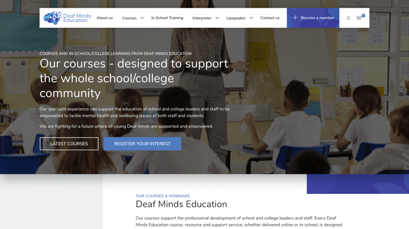 Deaf Minds Education