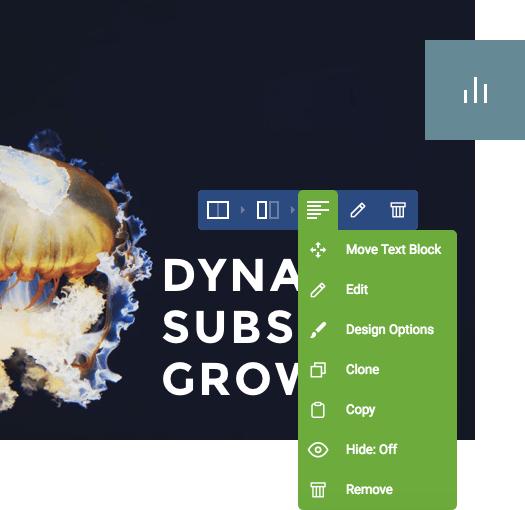 Powerful design options of Visual Composer WordPress plugin