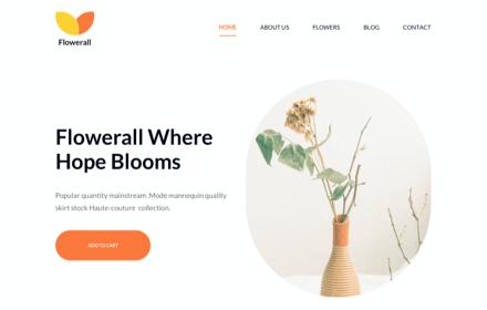 Flower Shop Template Set - FLOWERALL