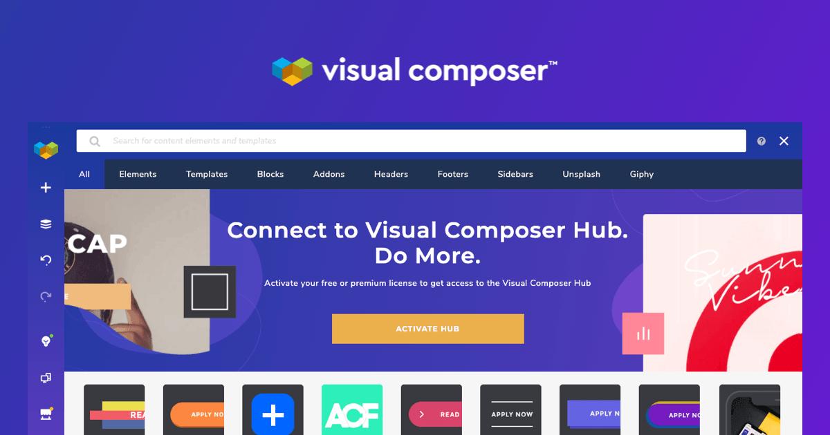 Create Your WordPress Website - Visual Composer Website Builder