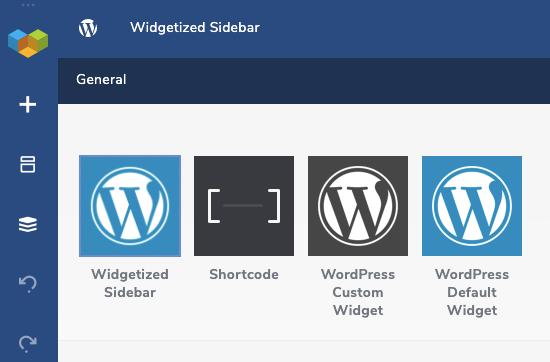Visual Composer elements for WordPress Widgets