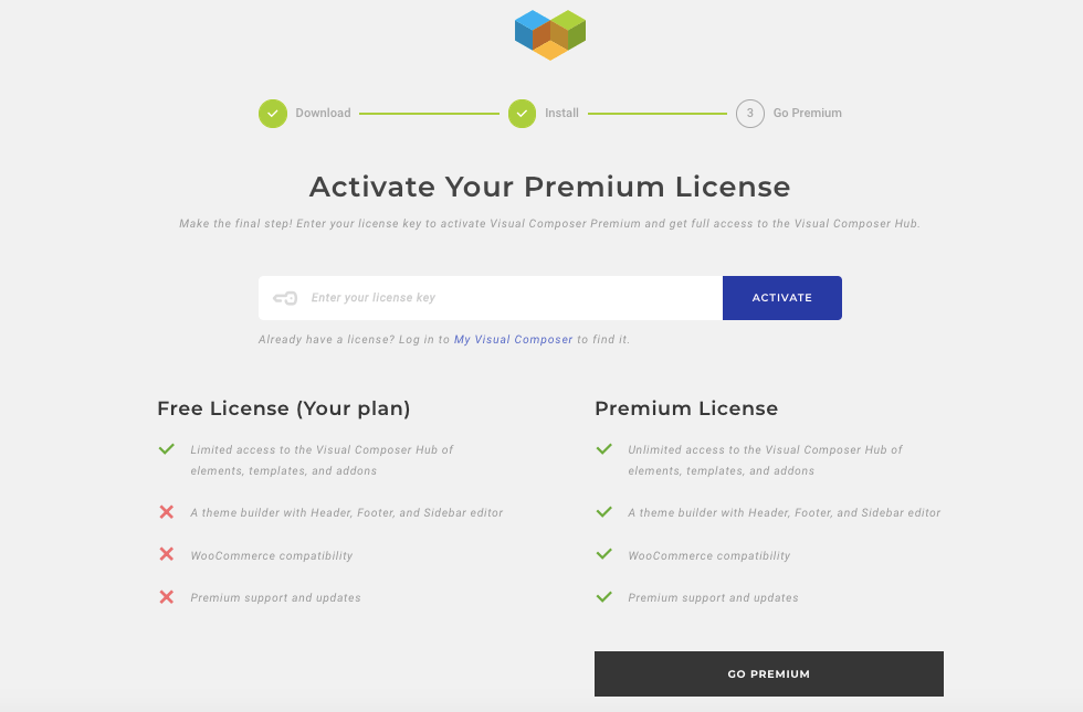 Premium Activation