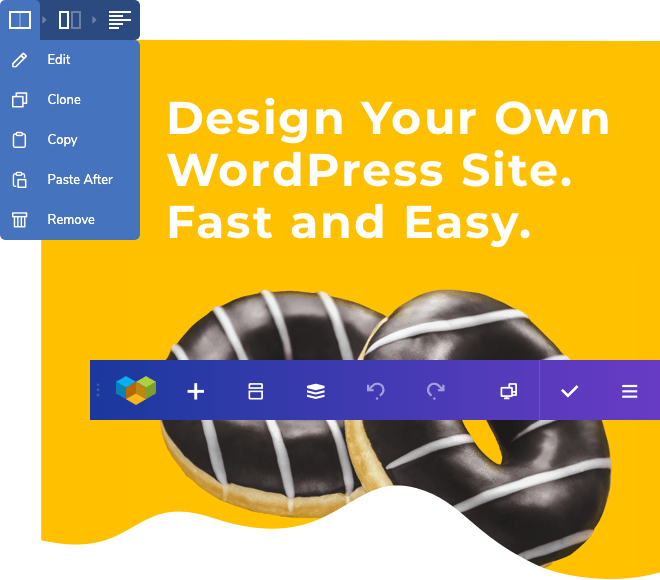 Design your own WordPress site