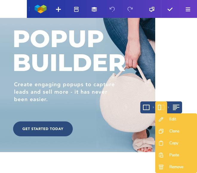 Popup builder for WordPress