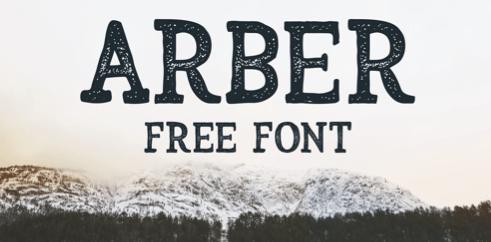 Amber Vintage Font