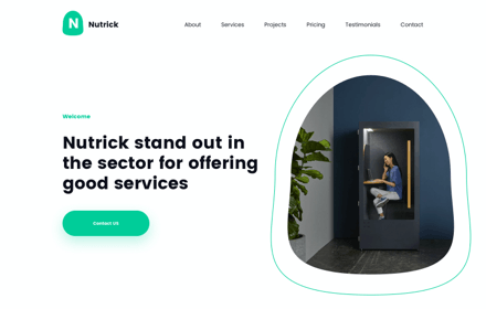 Digital Agency Template Set - NUTRICK
