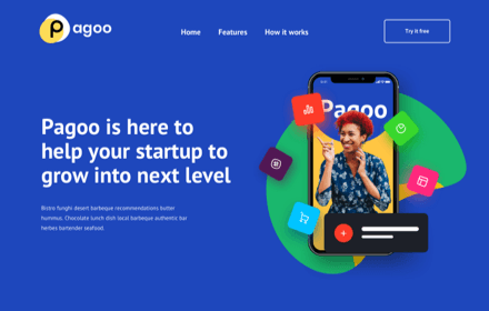 Startup Company Template - PAGOO