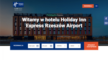 Holiday Inn Express website
