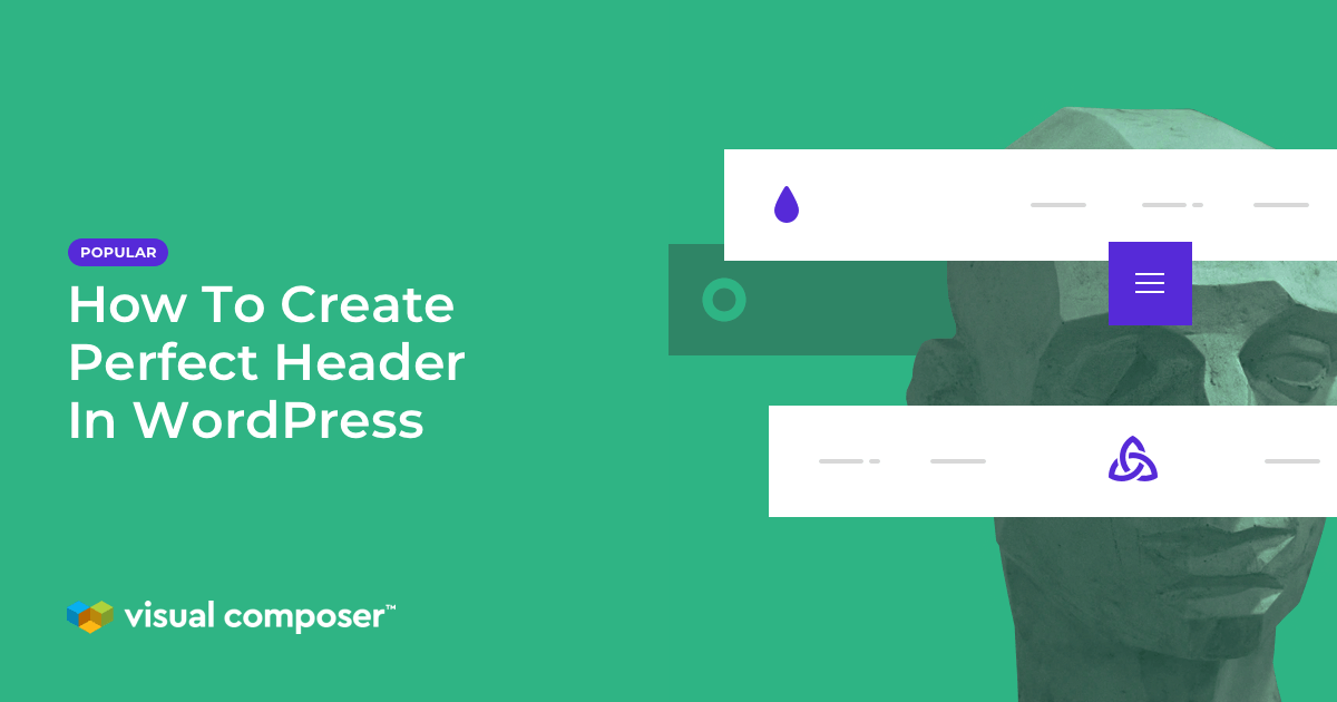 Create perfect header with Header Builder for WordPress