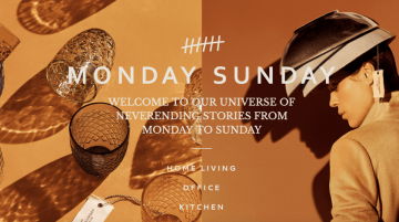 Monday Sunday website made with Visual Composer