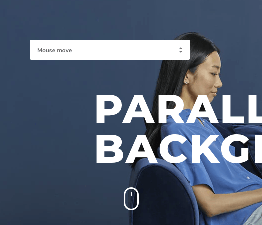Add parallax background effect to WordPress with Visual Composer