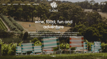 Tucks Website Example