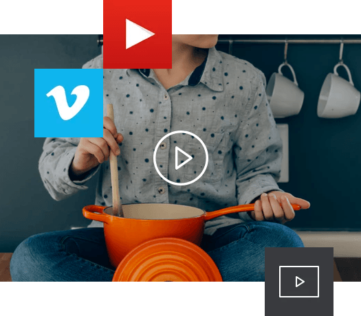 Add video background effect to your WordPress site
