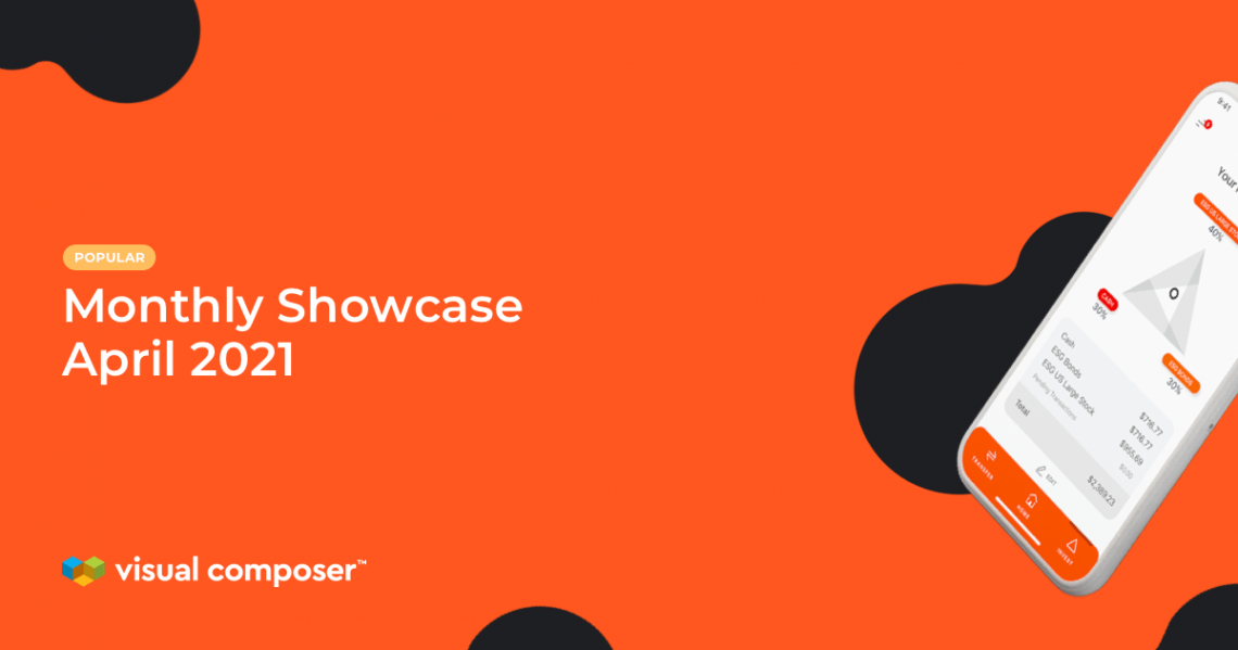 Visual Composer Showcase 2021