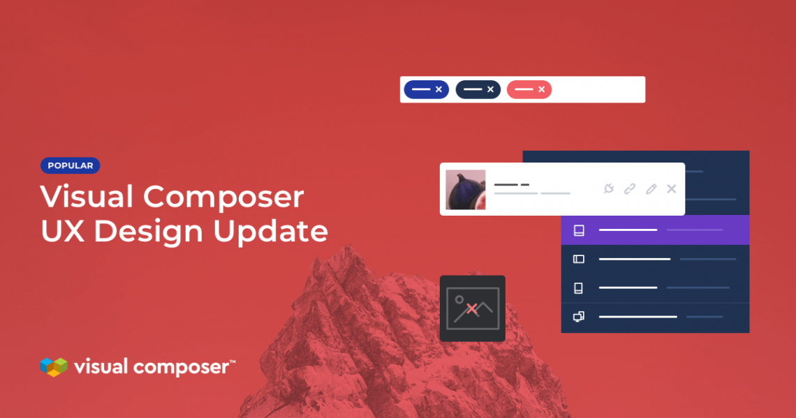 Visual Composer UI/UX design improvements