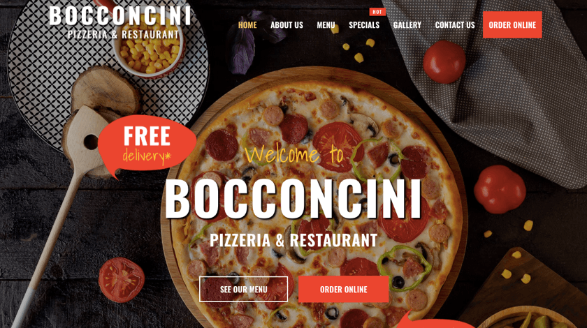 Bocconcini website