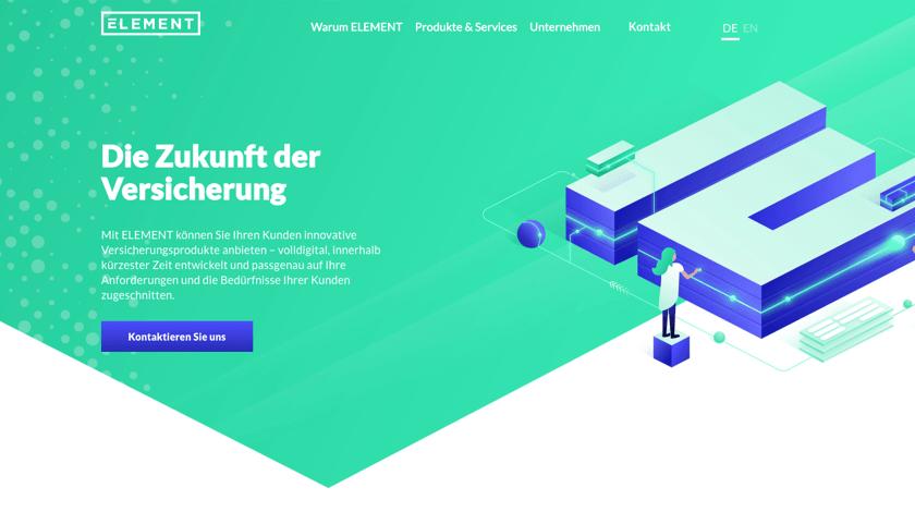 Element Website Example