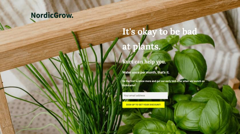 NordicGrow website
