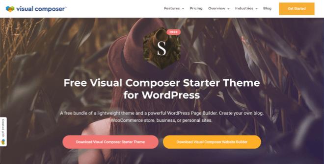 Visual Composer Starter Theme
