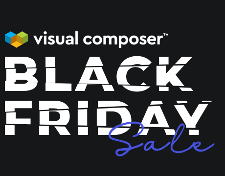 Black Friday WordPress Deal for Visual Composer