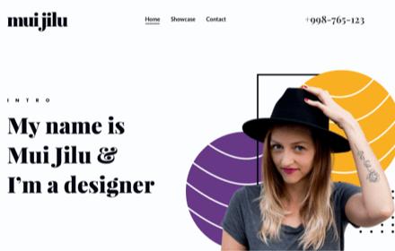 Designer Portfolio Template