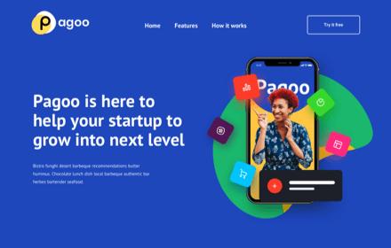 Startup Company Template - PAGOO