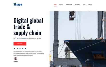 Moving Company Template Set - SHIPPO