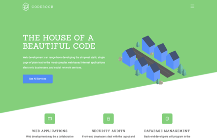 Web Developer Template - CODEROCK
