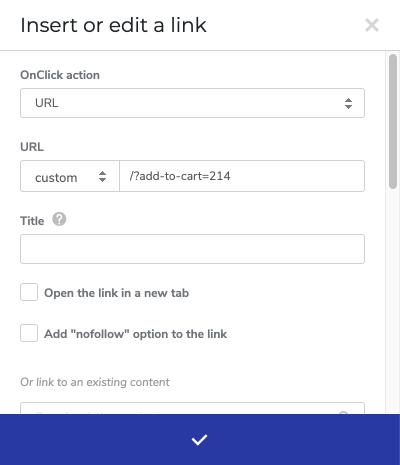 Custom Add To Cart Button