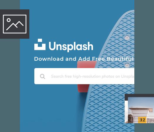 Download Unsplash stock images in Visual Composer