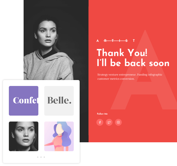 Visual Composer Templates Feature