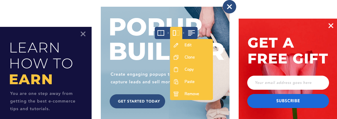 Create stunning popups for your WordPress site