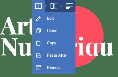 Visual Composer website builder for designers