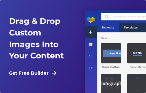 Download the right drag and drop editor for WordPress