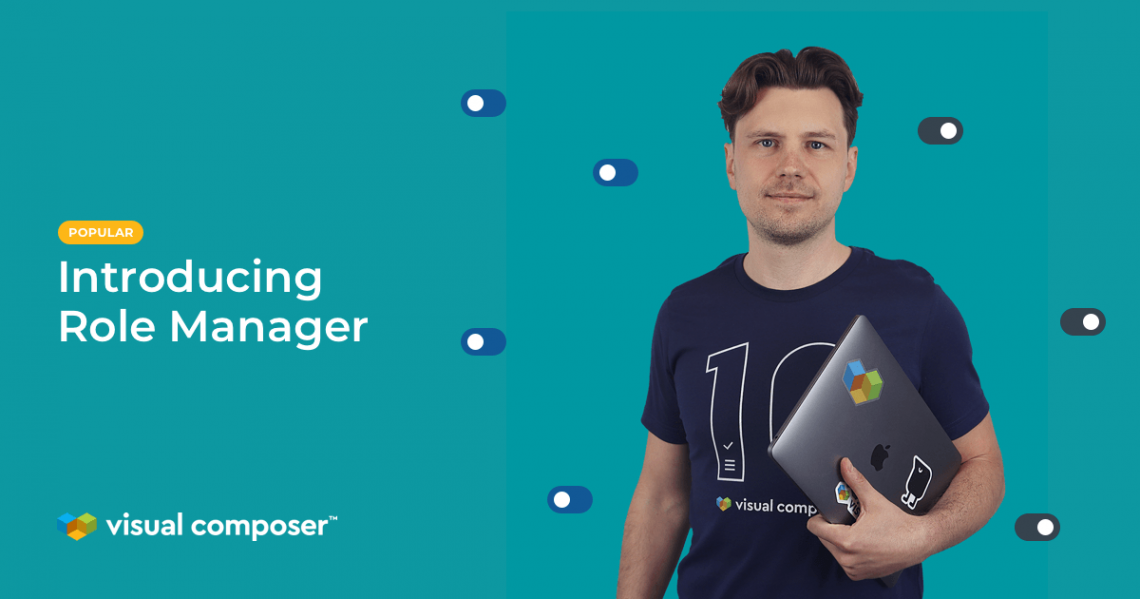 Manage user role access rights with the Visual Composer Role Manager
