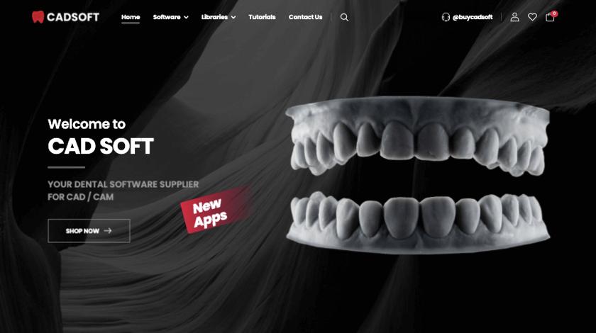 CadSoft website example