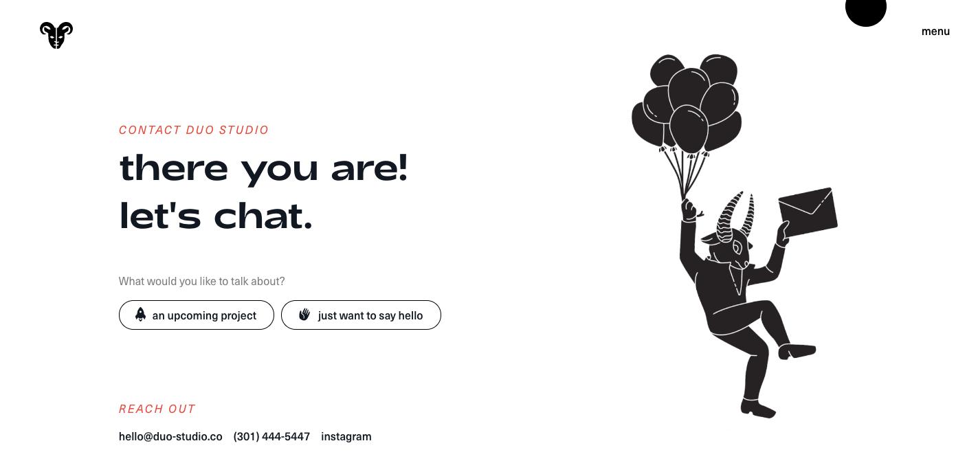 Duo Studio Portfolio Website