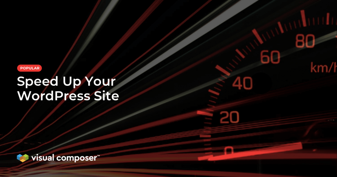 Speed up your WordPress site feature image