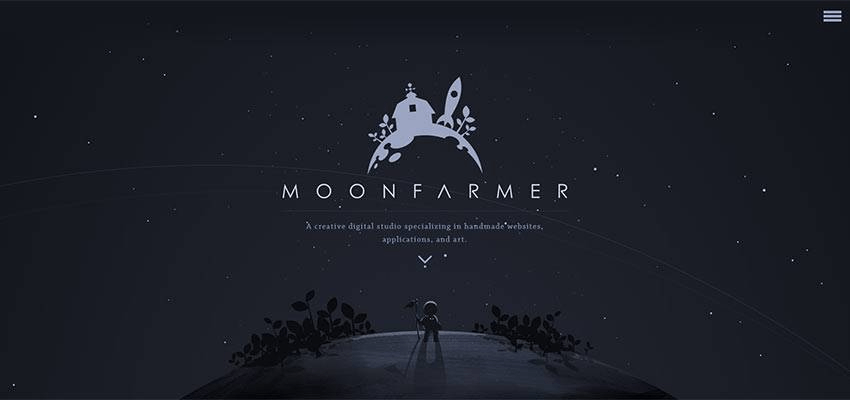 Moon Farmer Portfolio Website